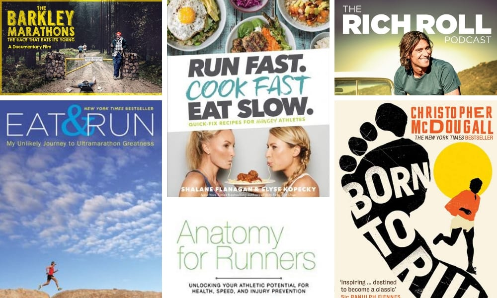 My favourite podcasts, books and movies for running, health and recovery
